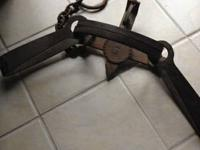 For sale an original/authentic bear trap. This is not a