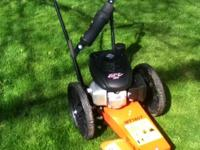 Bearcat wheeled trimmer Model number WT160T with a