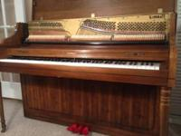"And She is Gorgeous!! This beautiful ""KIMBALL"" Piano"