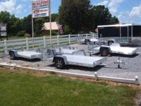 FOR SALE ,,NEW BEAR TRACK TRAILERS,,,WE HAVE A WIDE