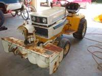 I have for sale a 1250 Cub Cadet lawn tractor, it has a