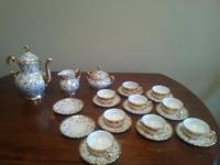 This beautiful tea set made by Mitterteich Bavaria