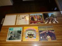 Open to trade offers. Text or call   Seven Albums with