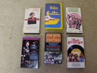 "BEATLES: Available: **VHS movies of ""Fab Four""....6 for"