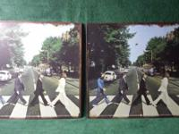 Beatles tin signs---abbey road for sale---$20 or best