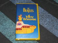 NEVER PLAYED, store-bought vhs tape of the Beatles'