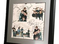 THE BEATLES...ORIGINAL BEATLES WALL PAPER 1960's.CUSTOM