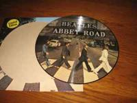BEATLES ABBEY ROAD PICTURE DISC 33 LP