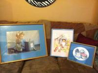 Three beautiful Beatrix Potter pictures. 2 prints, one