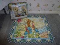 "Never been opened twin quilt 62"" x 86"" $125 with"