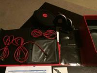 Beats by Dre Studio headphones in black for sale in