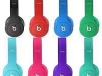 Beats by Dr. Dre Solo HD Headband Headphones Drenched