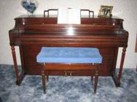 Beautiful 1950 Hobart M. Cable Piano - in good shape,