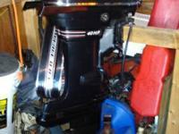 Beautiful 1970 Kiekhaefer Mercury Thunderbolt 400 40 hp