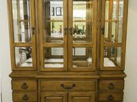 The Hutch base is a 9 drawer, two door, solid wooden