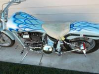 Beautiful 2000 Custom Built Motorcycles Chopper/Only 4k
