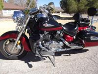 This is a beautiful 2005 Yamaha Royal Star Tour Deluxe,