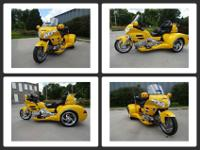 Year: 2009 Honda W/CSC Trike Model: GL1800 Audio,