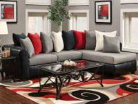 Dolphin 2pc. Sectional for ONLY $698.00.     Bring a