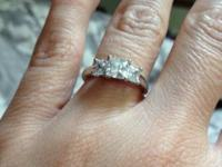 I am selling a beautiful ring. This is from Diamond