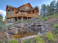 Beautiful 33+ acre property with a gorgeous custom