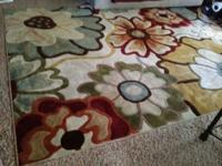 This is a Beautiful, plush area rug. The style is very