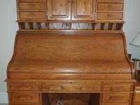 Completely constructed from Oak hardwoods, no veneers,