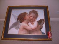 Big sophisticated focal art. Originally acquired in a