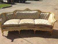 Beautiful Antique Couch needs to be refinishes but is