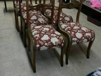 Set of 6 antique chairs.  Beautiful French country