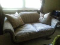 Antique Loveseat.         Couch, Furniture, Chair