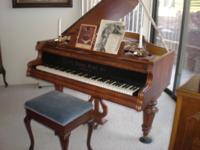 Made in 1865, this 'Ludwig Eichel' grand piano has held