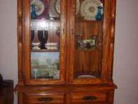 Antique hutch for sale. very beautiful piece of