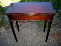 Hello! We are offering this Beautiful Antique Mahogany