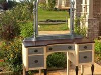 Antique Vanity at least 100 yrs old. Completely redone,