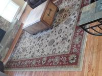We have for sale a very nice thick olefin area rug, it