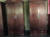 Beautiful Antique Armoire/wardrobe closet. $150 ea.