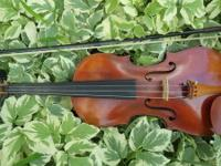 Violin-- full-size antique Austrian violin in perfect