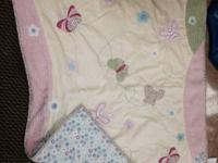 Like brand brand-new- Laura Ashley infant girl bedding