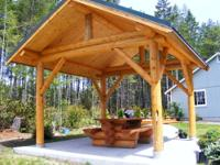 We will deliver this easy to build log shelter kit to