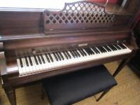 A beautiful 1970 Baldwin piano.  I am a professional