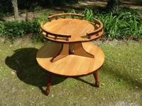 A beautiful bamboo table with 4 comfortable bamboo arm