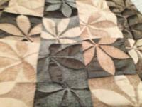 Brand new beautiful bed spread/comforter w/ shams by
