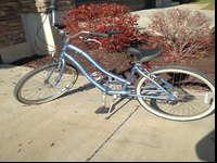 I have a four years of age females's Sun Bicycle