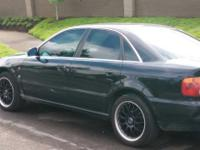 I have a black beautiful 1996 Audi A 4 Quattro 4 door