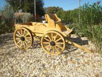THIS BUCKBOARD WAGON WILL BE THE FOCAL POINT OF YOUR