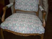 Gorgeous antique chair. Great details and in fantastic