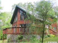Beautiful chalet in the woods of Northwest WI. Three
