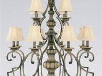 This chandelier is gorgeous if you like the look of