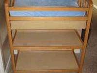 Beautiful light maple changing table in GREAT shape!